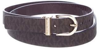 MICHAEL Michael Kors Leather Waist Belt