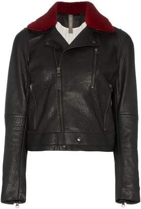 Lot Lthr Leather Biker Jacket