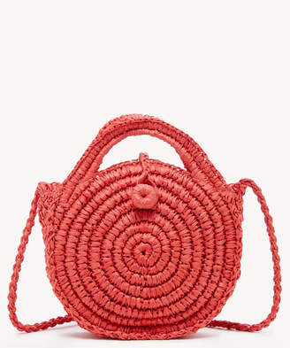 Sole Society Women's Corby Crossbody Bag Straw Poppy From