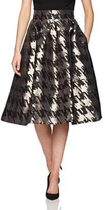 Eliza J Women's Separate Printed Midi Skirt