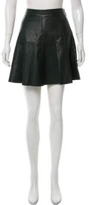 Rebecca Minkoff Leather Mini Skirt w/ Tags