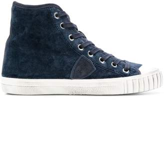 Philippe Model lace-up high-top sneakers