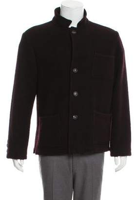Massimo Alba Button-Up Wool Jacket