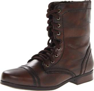 Steve Madden Girl's JTroopa Casual Combat Boot 5 M US