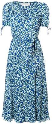 Carolina Herrera V-neck midi dress