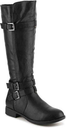 Journee Collection Bite Wide Calf Riding Boot - Women's