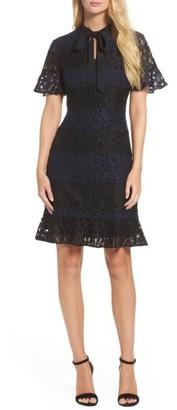 Women's Julia Jordan Lace Fit & Flare Dress $118 thestylecure.com