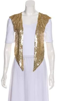Milla Sequin-Accented Vest