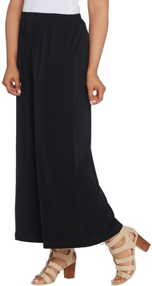 Joan Rivers Classics Collection Joan Rivers Regular Pull-On Jersey Knit Palazzo Pants