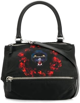 Givenchy small jaguar print Pandora tote