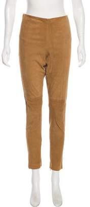 Ralph Lauren Skinny Sued Pants