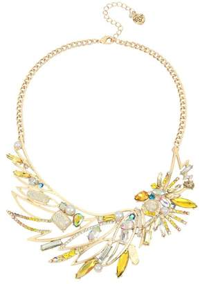 Betsey Johnson Cockatoo Frontal Necklace