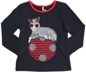 Little Marc Jacobs Printed Cotton T-Shirt