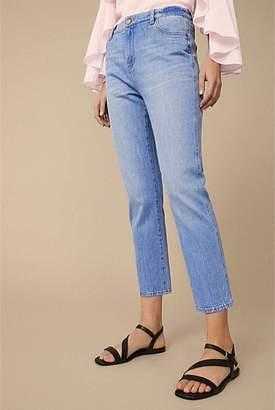 Witchery Slim Straight Crop Jean