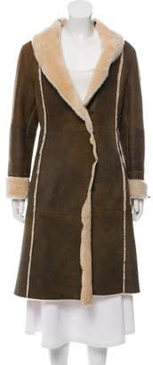 Andrew Marc Shearling Long Coat