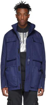 Oakley by Samuel Ross Blue Skydiver Field Jacket