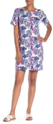 Tommy Bahama Maypop Short Sleeve Printed Dress