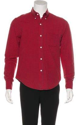 Band Of Outsiders Gingham Button-Up Shirt