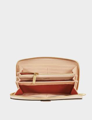 Lancel Max Continental zipped wallet