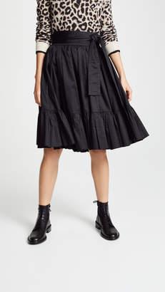 Marc Jacobs Belted Knee Length Skirt