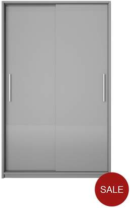 Prague Gloss Sliding 2-Door Wardrobe