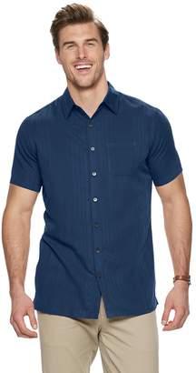 Van Heusen Big & Tall Air Classic-Fit Striped Button-Down Shirt