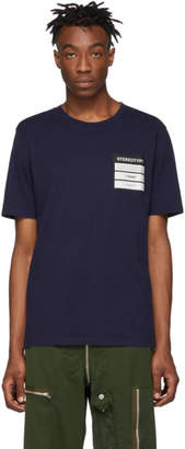 Maison Margiela Navy Jersey Stereotype T-Shirt