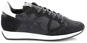 Philippe Model Men's Monaco Camouflage Low-Top Sneakers