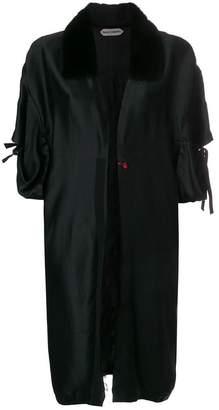 Giacobino embroidered kimono coat