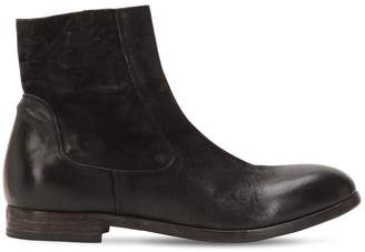 Moma Leather Ankle Boots