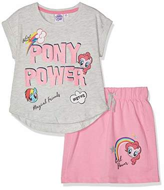 96b4f7dca7b1 My Little Pony Girl's 5867 Clothing Set, White Blanc