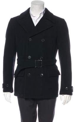 Number Nine Number (N)ine Double-Breasted Wool Peacoat