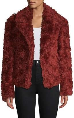 Dries Van Noten Women's Faux Fur Swing Coat