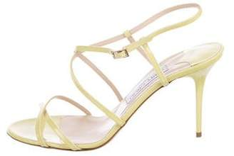Jimmy Choo Elaine Patent Leather Sandals