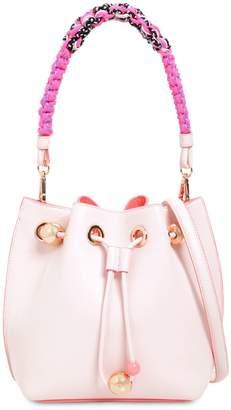 Sophia Webster Romy Mini Leather Bucket Bag