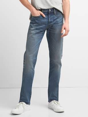 Gap Cone Denim® Weathered Selvedge Jeans in Slim Fit with GapFlex