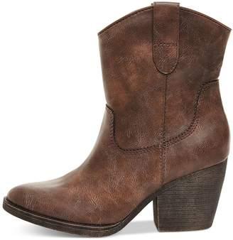 Madden-Girl Ramz Women US 8 Brown Western Boot