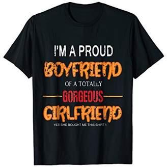Boyfriend And Girlfriend Stuff Shirt Cute Birthday Gift Tee