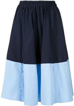 Marni two-tone midi skirt