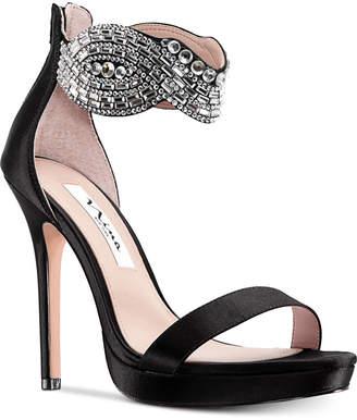 2be2ec3249e Nina Fayth Platform Dress Sandals Women s Shoes