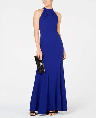 Xscape Evenings Halter-Neck Gown