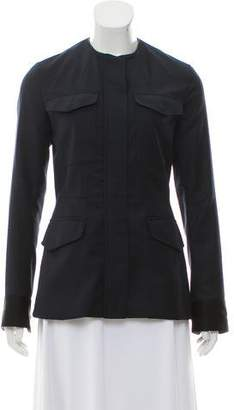 Rag & Bone Wool Collarless Jacket
