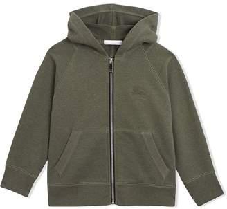 Burberry TEEN zipped hoodie