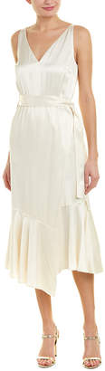 Derek Lam 10 Crosby V-Neck Slip Dress