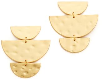 Gorjana Uma Drop Stud Earrings $60 thestylecure.com