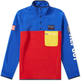 Polo Ralph Lauren Hi-Tech Colour Block Pullover Fleece