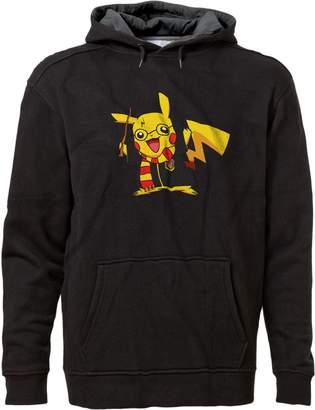 Pokemon BSW Men's Pikachu Potter Harry Potter Premium Hoodie LRG Blk/Charc