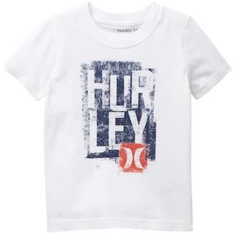 Hurley Logo Tee (Toddler Boys)