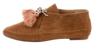 Ulla Johnson Suede Lace-Up Booties