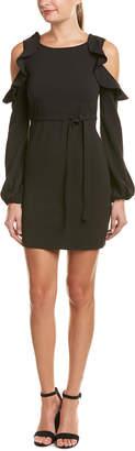 Romeo & Juliet Couture Cold-Shoulder Sheath Dress